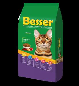 Besser Natural Gatos Adultos