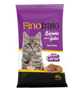 Finotrato Bifinho Carne Gatos Adultos