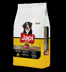 Japi Plus Carne e Ossinhos Cães Adultos