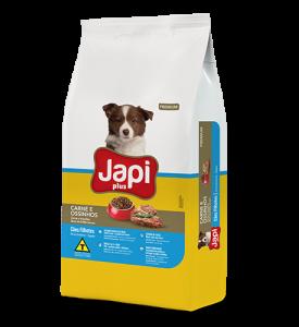 Japi Plus Carne e Ossinhos Cães Filhotes