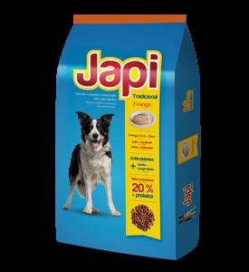 Japi Tradicional Frango Cães Adultos